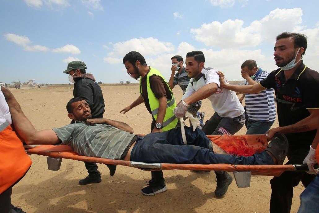 5. Al menos 800 de los manifestantes sufrieron heridas leves.