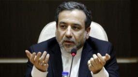 Abas Aragchi, vicecanciller de Irán, habló en Viena.aP