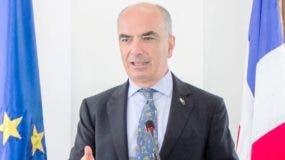 El italiano Gianluca Grippa, embajador de la Unión Europea en el país.