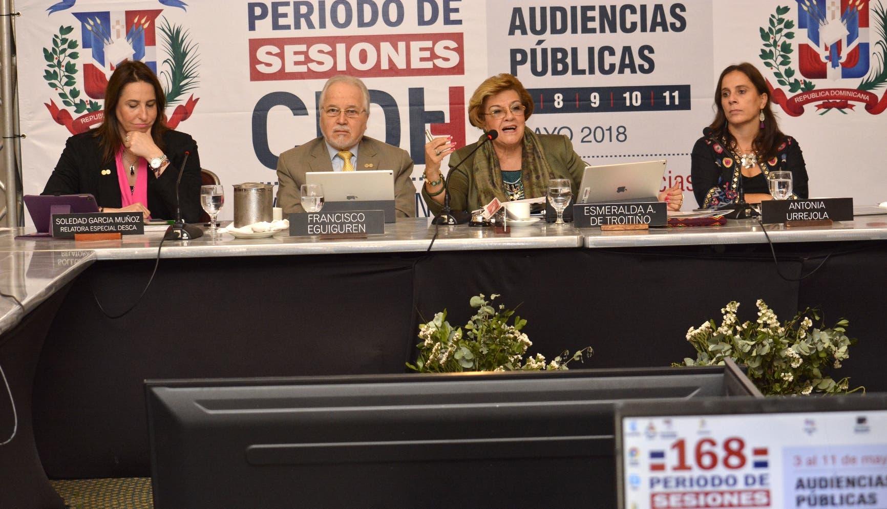 La Comisión Interamericana de Derechos Humanos (CIDH) realiza en el país su 168 periodo de sesiones de audiencias públicas. Osi Méndez