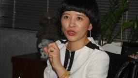 Fu Xinrong, encargada de negocios de la Oficina de Desarrollo Comercial de China en el país.