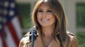 La primera dama de Estados Unidos Melania Trump fue operada. AP