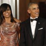 El presidente Barack Obama junto a su esposa Michelle Obama.
