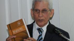 Bruno Rosario Candelario, director de la Academia Dominicana de la Lengua. Aracelis Mena.