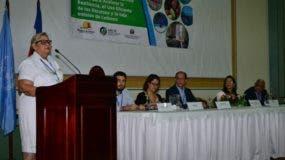 La viceministra Gestión Ambiental Zoila González