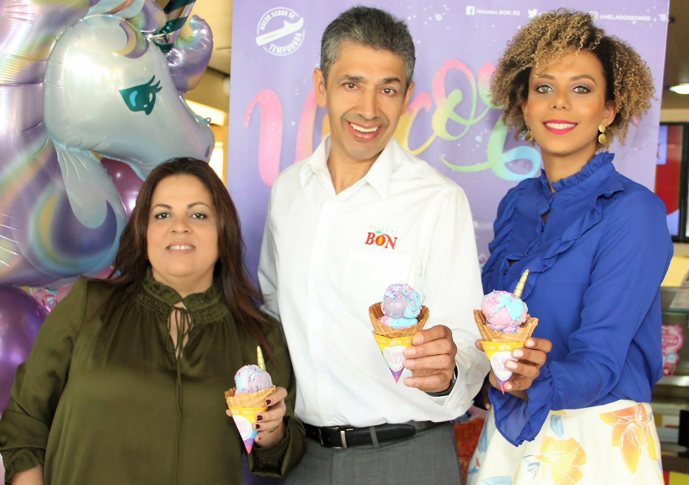 Carolina Pantaleón, Luis Fernando Enciso e Icemil Guerrero