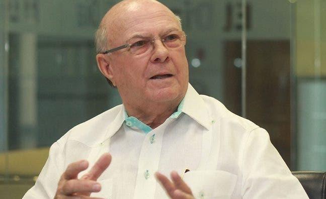 Hipólito Mejía, dirigente del PRM.