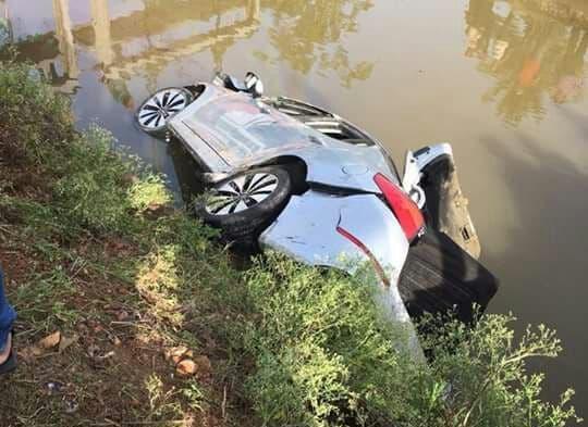 Seis muertos al caer un carro en un canal de riego en la carretera Arenoso-Ciénaga Vieja