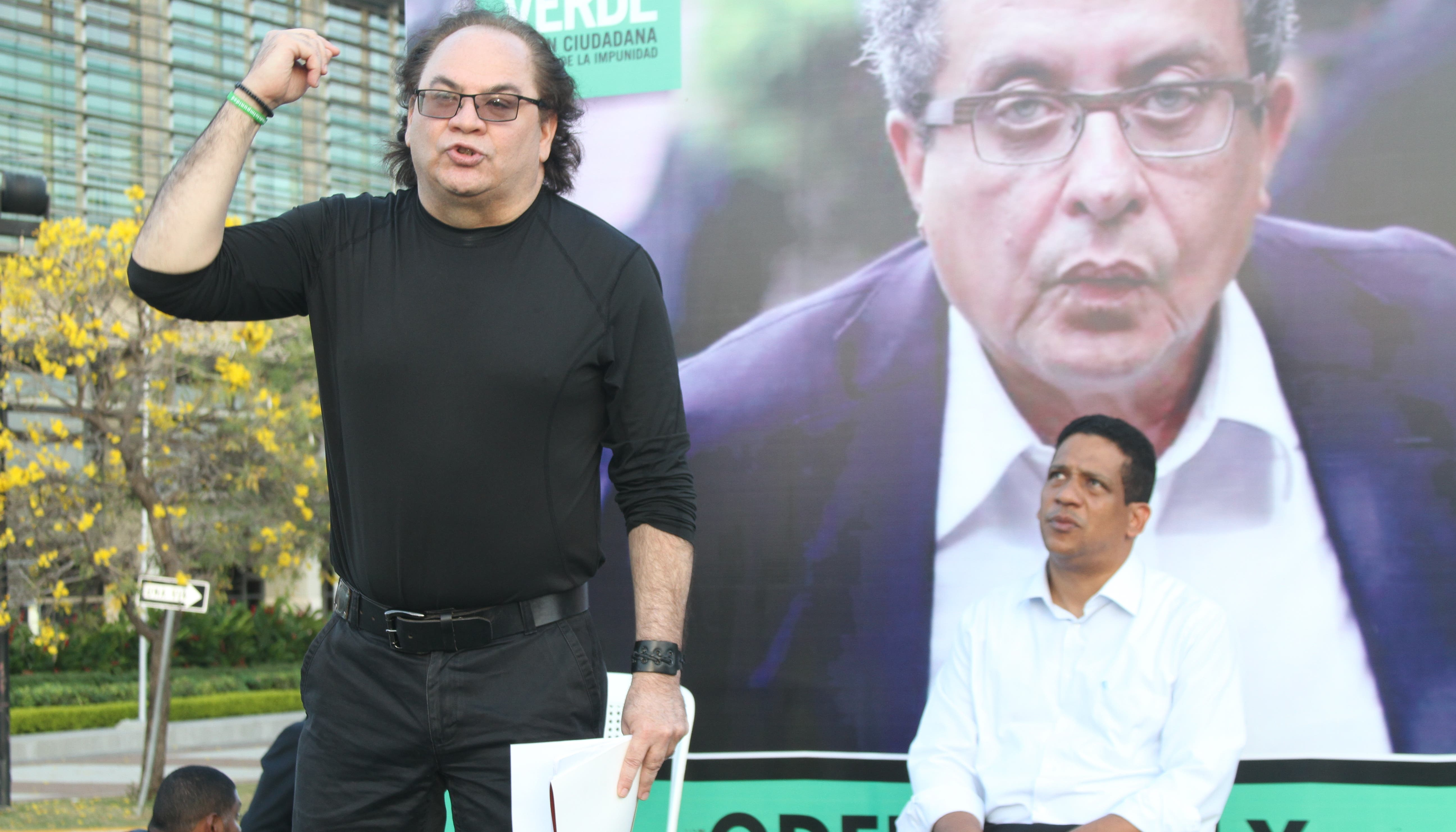 José Luis Taveras participó en  la actividad.