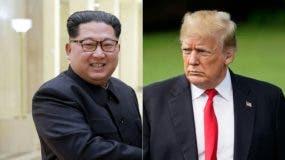 Kim Jung-Un y Donald Trump.