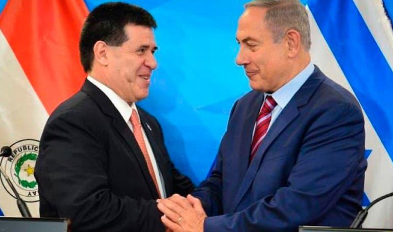 Paraguay es tercer país que muda su sede en Israel