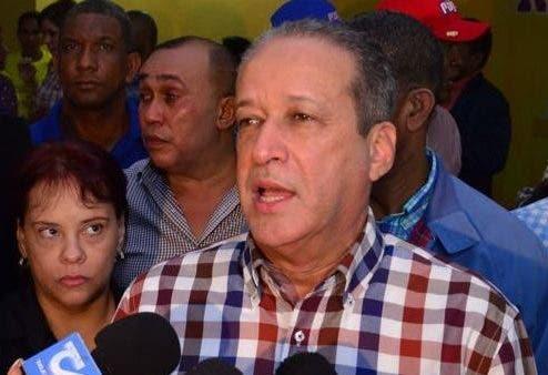 Reinaldo Pared Pérez, secretario general del PLD y precandidato presidencial. Foto de archivo