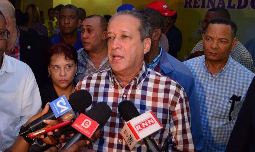 Pared Pérez dijo estar optimista y esperanzado de que la Ley de Partidos será aprobada cuanto antes.