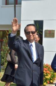 Valentino Tang se despide del país tras el rompimiento con Taiwán.