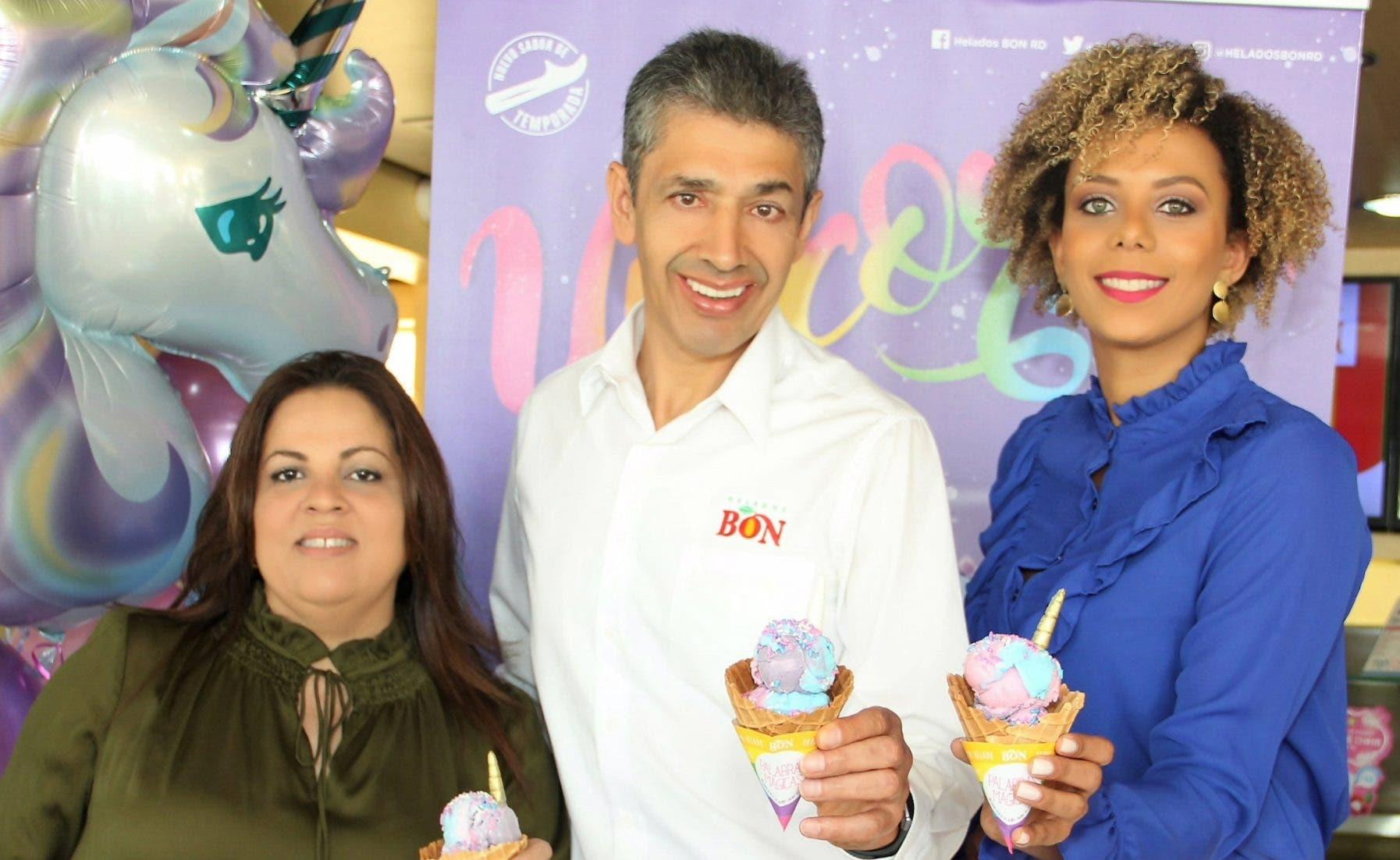 Helados Bon combina el sabor del algodón de azúcar, uva y el chiclet