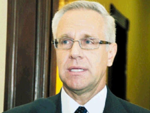 Robert Copley dijo que EE. UU.  respeta la decisión.  Pablo Matos