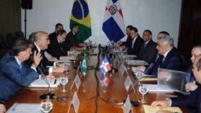 Miguel Vargas, acuerdo con Brasil