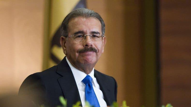 El presidente Danilo Medina. Archivo
