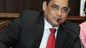 Edward Jorge Gómez, uno de los diputados del PRM.
