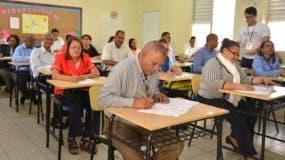 59,360 docentes de aula a nivel nacional  han sido evaluados.