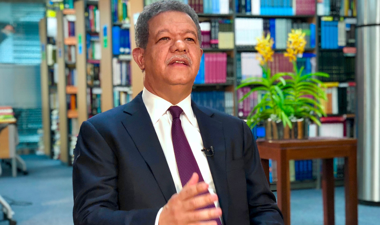 Leonel Fernández, expresidente de La República
