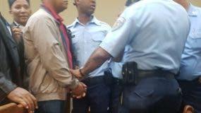 Narciso Sánchez Jiménez, capitán de la Fuerza Aérea, acusado de ultimar a una joven y herir a su pareja tras un accidente de tránsito.
