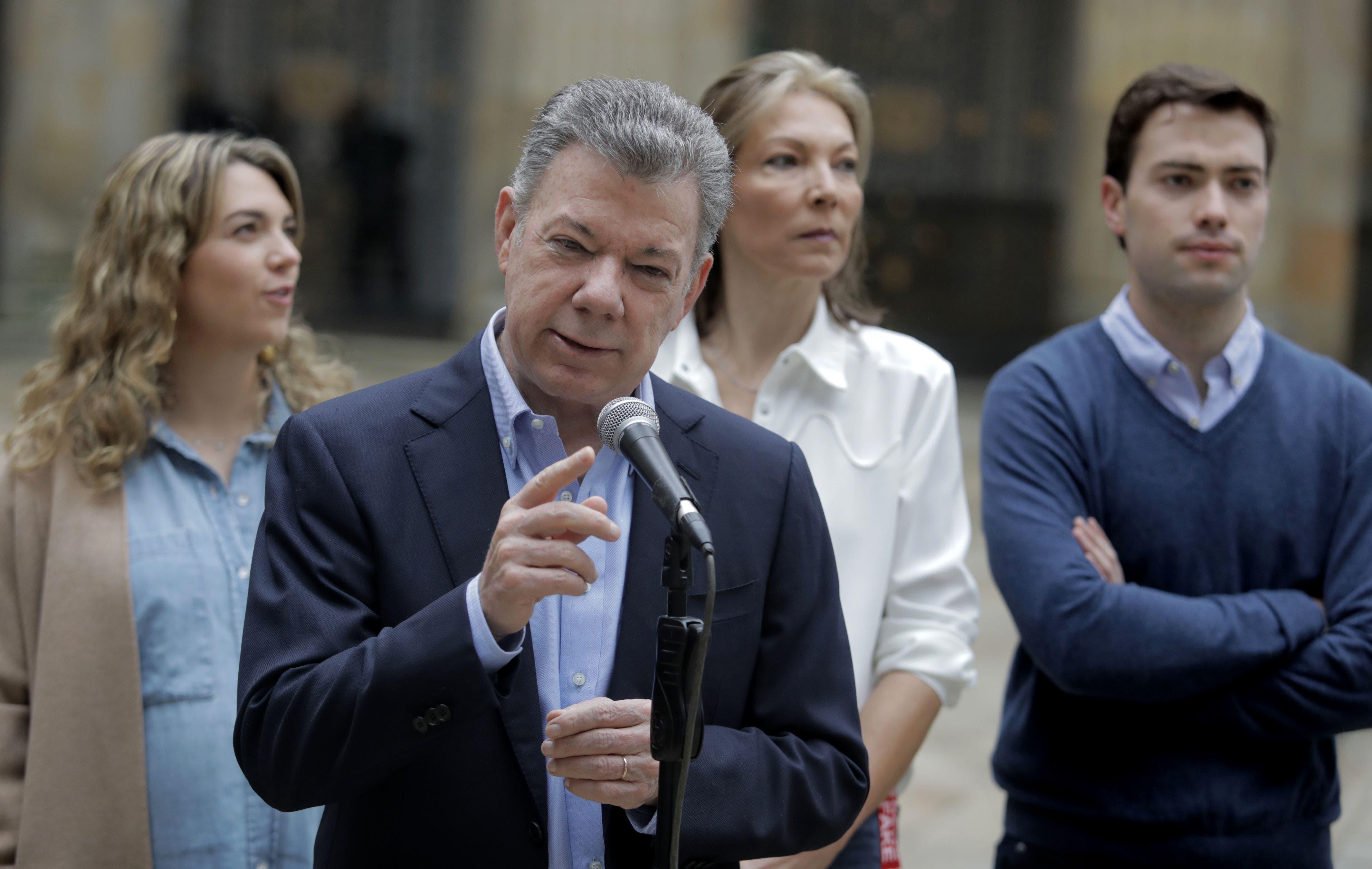 Santos pide a colombianos que voten por el bien de las próximas generaciones
