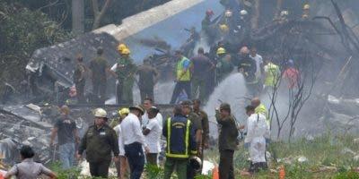 El avión se estrelló el pasado viernes.