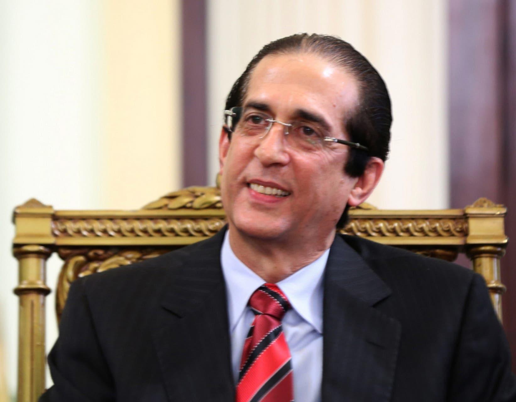 Gustavo Montalvo, ministro de Presidencia. Archivo