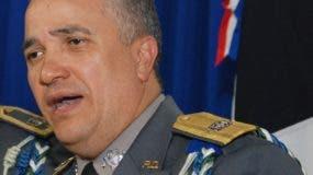 Ney Aldrin Bautista, director de la Policía.