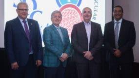Juan José Maldonado,  Vicente Riambau, LLuis Duocastella y Ramón A. Pérez Baquero.