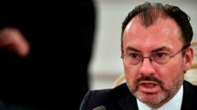 El canciller Luis Videgaray pidió a EE.UU. frenar la separación de familias migrantes.