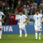 Messi y compañía no estuvieron a la altura de la situación y fueron superados por Croacia.
