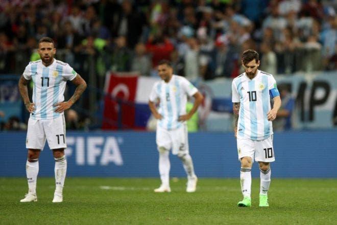 Messi Y Compania No Estuvieron A La Altura De La Situacion Y Fueron Superados Por Croacia