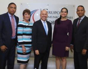 Iván Lorenzo, Milagros Ricardo, Laura Jerez y Francis Cuevas  forman parte del equipo de campaña de Domínguez Brito.