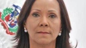 Ana Mercedes Rodríguez, diputada Peravia.  ARCHIVO