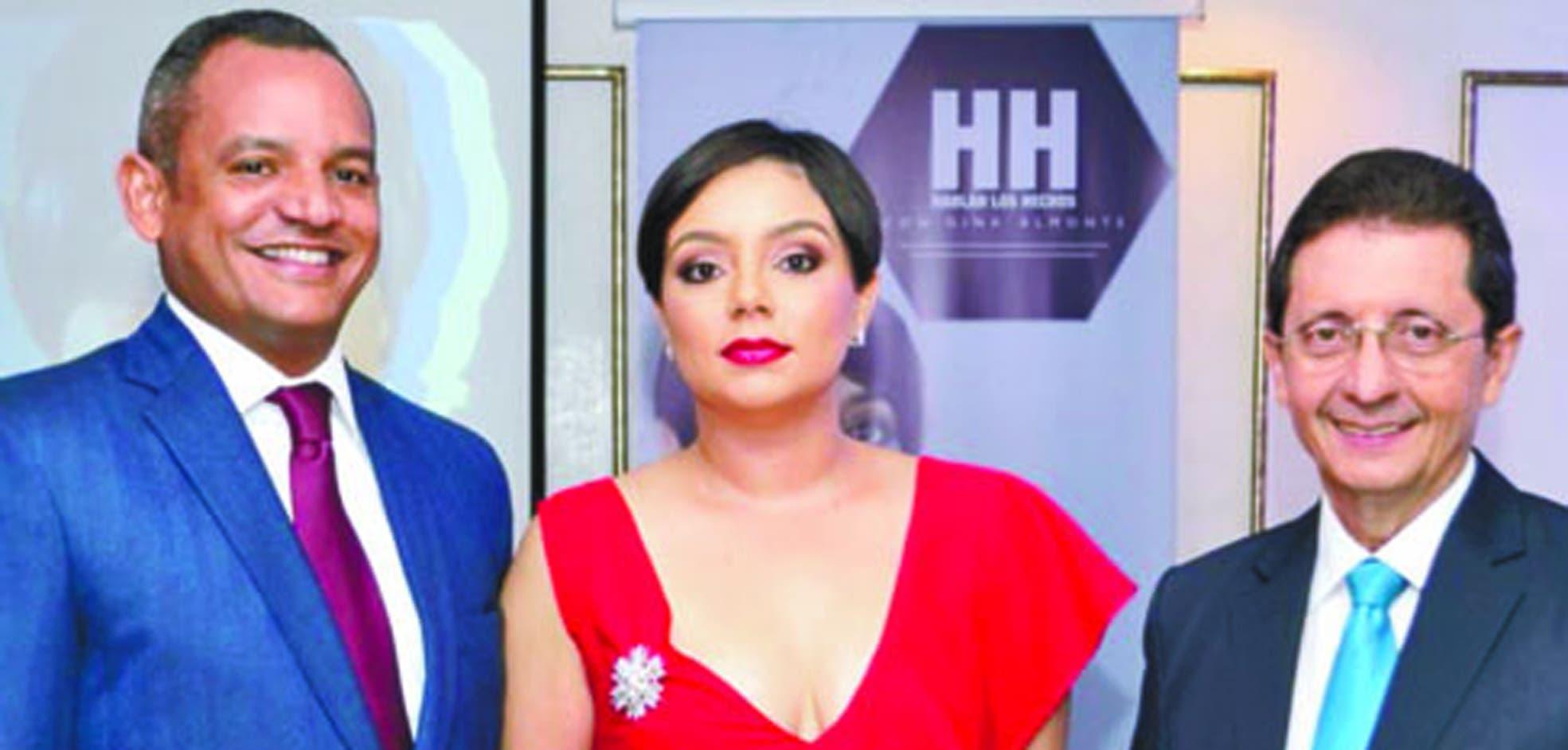 José Martínez, Gina Almonte y Ramón Núñez Ramírez.