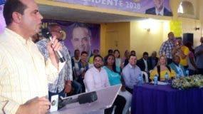 Manuel Crespo manifestó en su acto proselitista que Cristo Rey es un barrio inspirador en el Distrito Nacional.