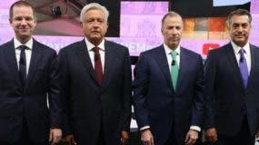 Andrés Manuel López Obrador aventaja a Meade, Anaya y Jaime Rodríguez.  AP