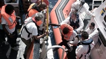 España acogió a 123 niños migrantes  sin compañía.