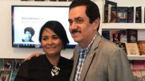 Lourdes Batista  y Tony Raful.
