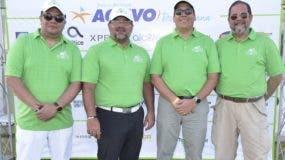 Rafael Fernández, Claudio Hirujo, José Luis Ravelo y Alejandro Jovine.