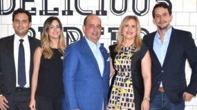 Máximo Vidal hijo, Ana Prota de Vidal, Máximo Vidal, Rosa Brache de Vidal y José Vidal.