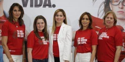 Cynthia León, Priscilla Kelly, Diana Ramírez, Rainelda Flores y Alma Valverde.