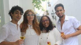 Luis Carlos Ruiz, Alina Graglietto, Tania Santamaría y Pedro Luis Ruiz.