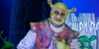"""""""Sherk el ogro"""" fue interpretado por José Alexander Díaz."""