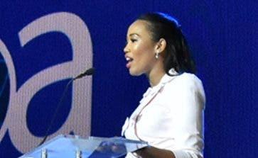 Yessely López, organizadora del evento.