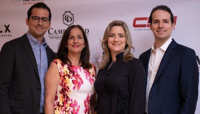 David Bermúdez, Nércida Díaz, Nicole Bermúdez y Manuel Bermúdez dieron los detalles.