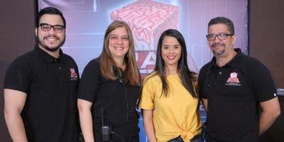 César Pagán, Laura Matos, Mariela Lamarche y Pedro Lajara.