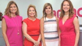 Pilar González, Patricia  González de Bergés, Jacqueline González y Jacqueline Martínez.